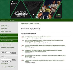 Practitioner Research Journal