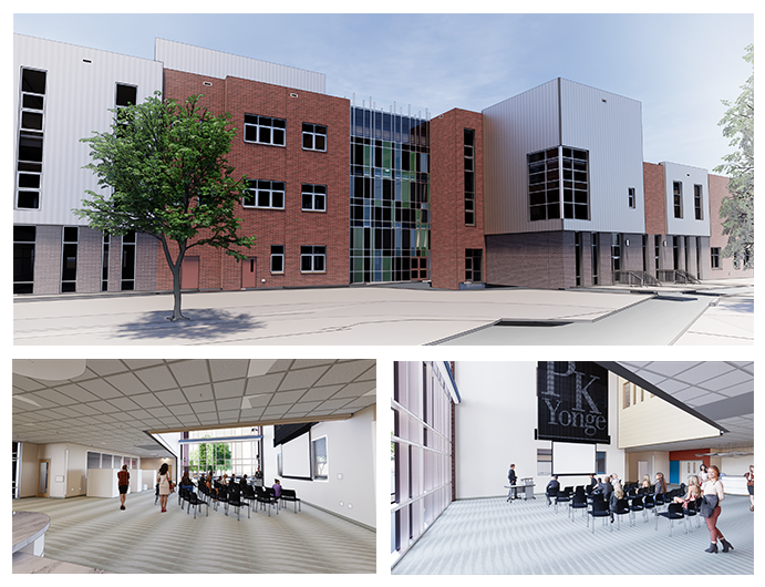 Secondary Building Images - External, Internal