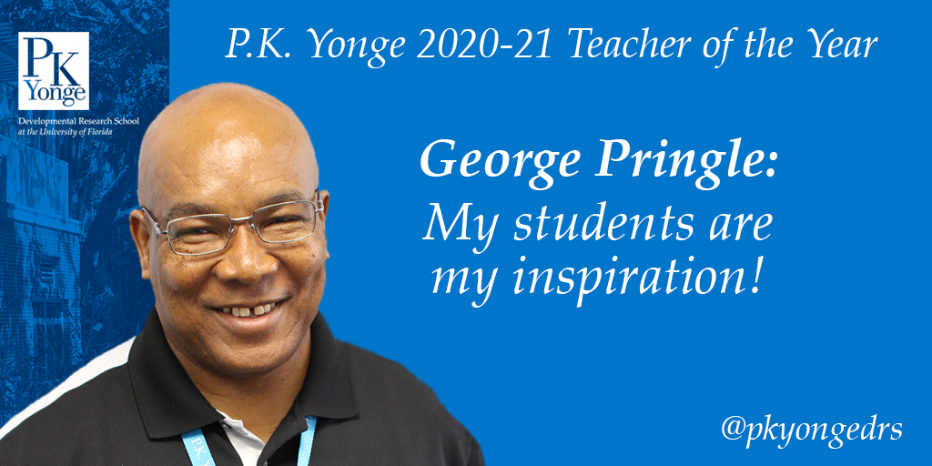 George Pringle Teacher of the Year