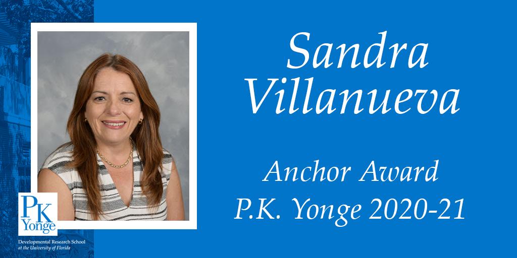 Sandra Villanueva Anchor Award