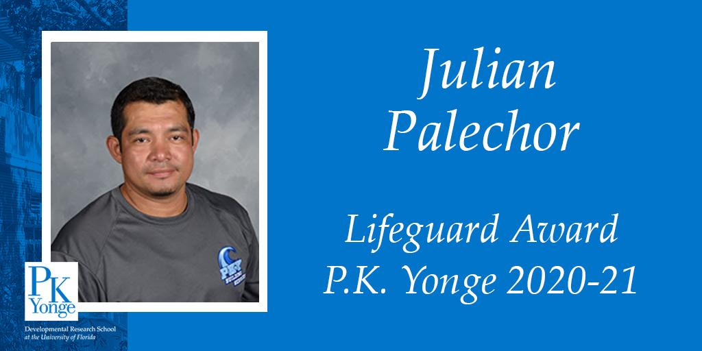 Julian Palechor Lifeguard Award